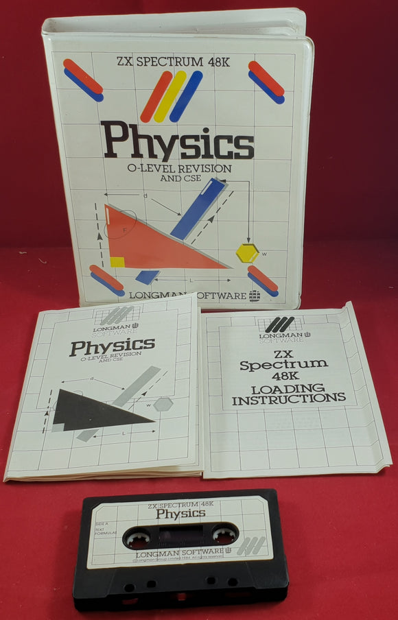 Physics ZX Spectrum Ultra RARE Game