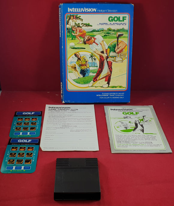 Golf Intellivision Game