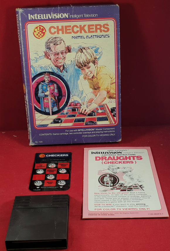 Checkers Intellivision Game