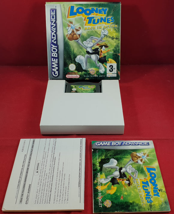 Looney Tunes Back in Action Gameboy Advance Game