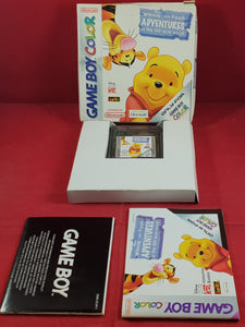 Disney's Winnie the Pooh Adventures in the 100 acre wood Nintendo Game Boy Color Game
