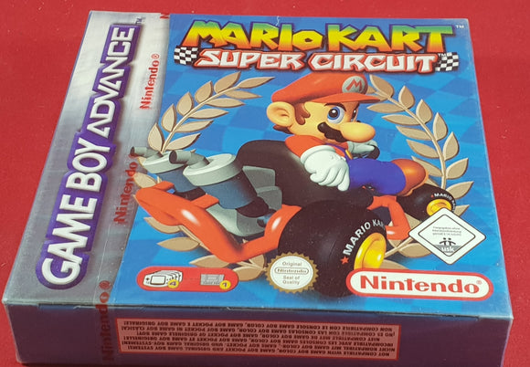 Brand New and Sealed Mario Kart Super Circuit Game Boy Advance Game