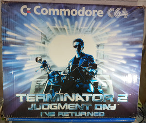 Limited Edition Terminator 2 Commodore 64 Console With Terminator 2 Cartridge RARE