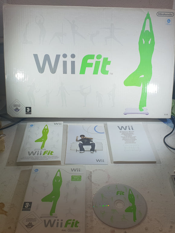 Boxed Wii Fit Balance Board With Disk Nintendo Wii Accessory