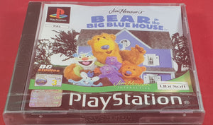 Brand New and Sealed Bear in the Big Blue House Sony Playstation 1 (PS1) Game