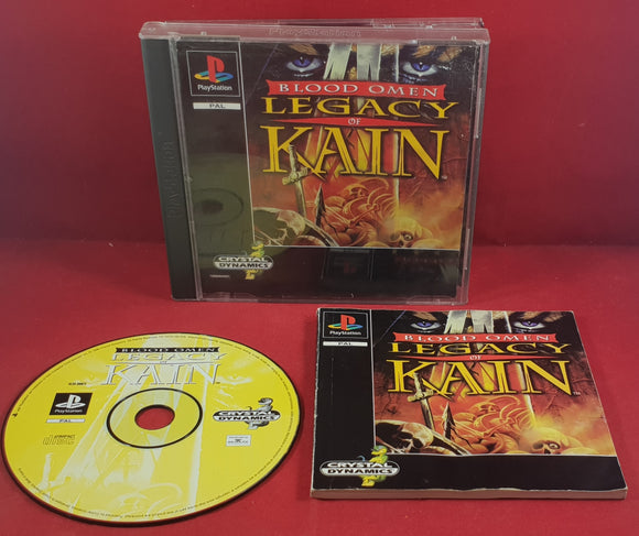 Blood Omen the Legacy of Kain Sony Playstation 1 (PS1) Game