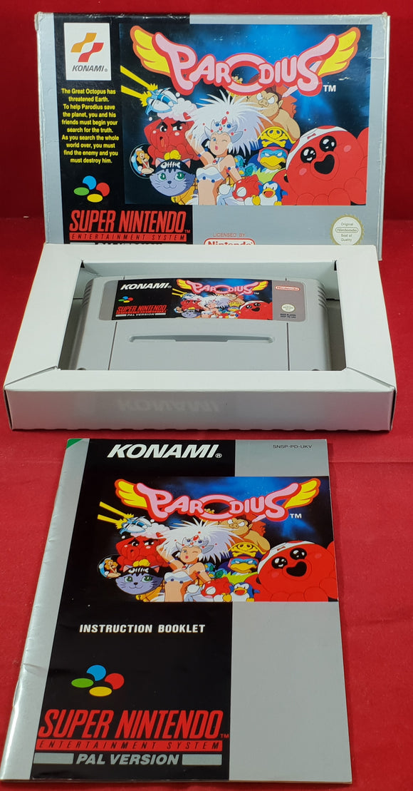 Parodius Super Nintendo Entertainment System (SNES) Game