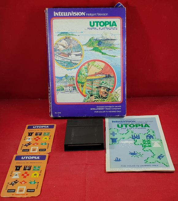 Utopia Intellivision Game