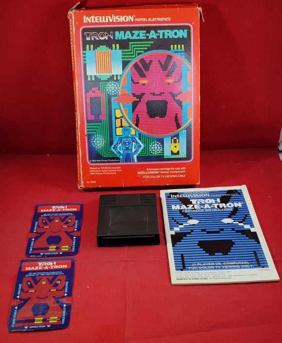Tron: Maze-A-Tron Intellivision Game