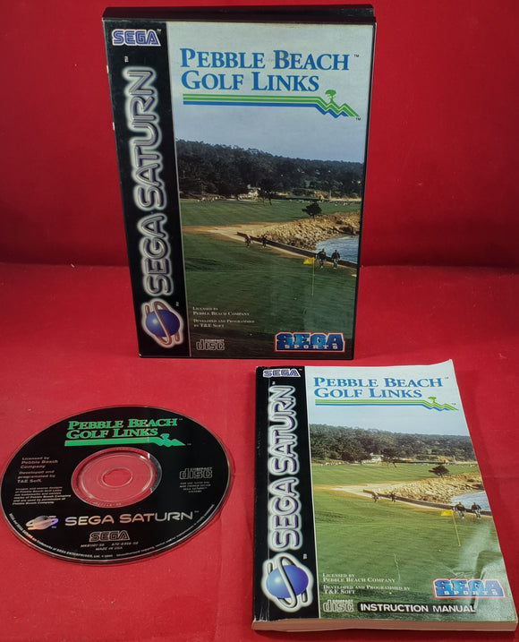Pebble Beach Golf Links Sega Saturn Game