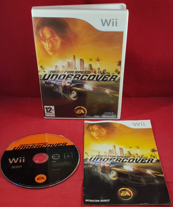 Need For Speed Undercover Nintendo Wii Game