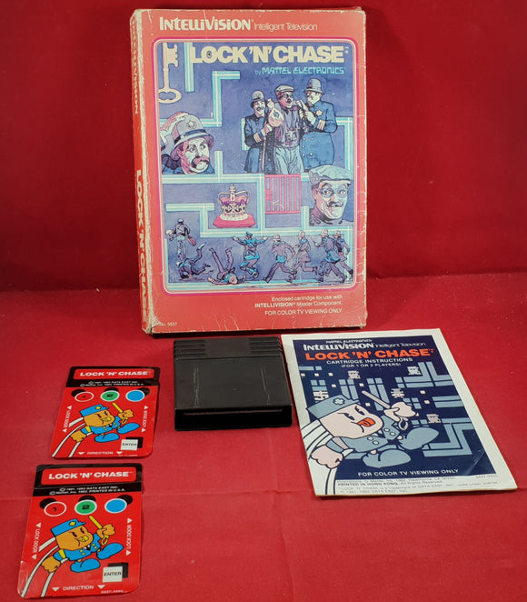Lock 'N' Chase Intellivision Game