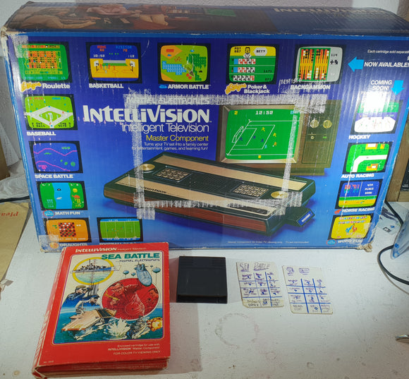 Boxed Intellivision Console with Sea Battle