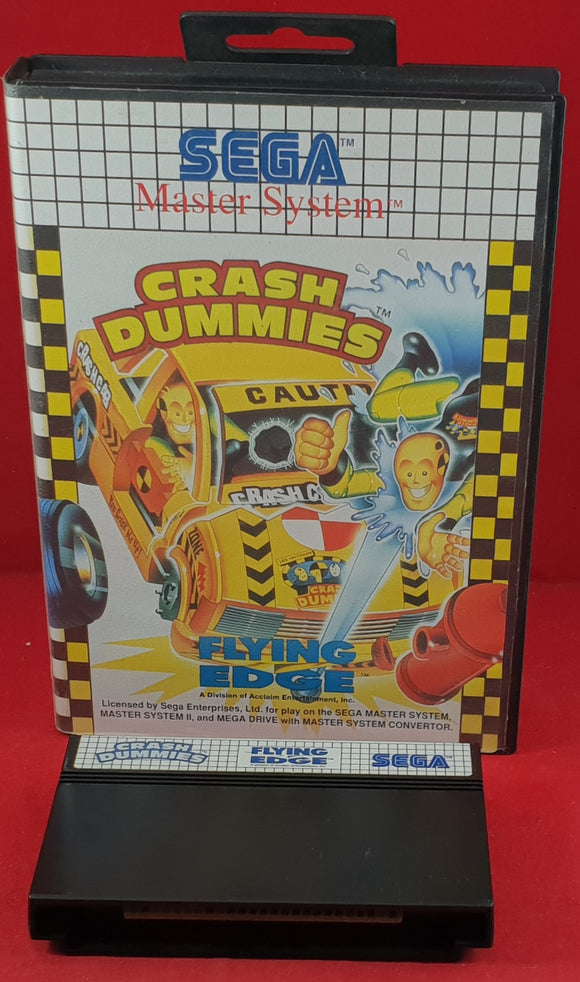 Crash Dummies Sega Master System Game