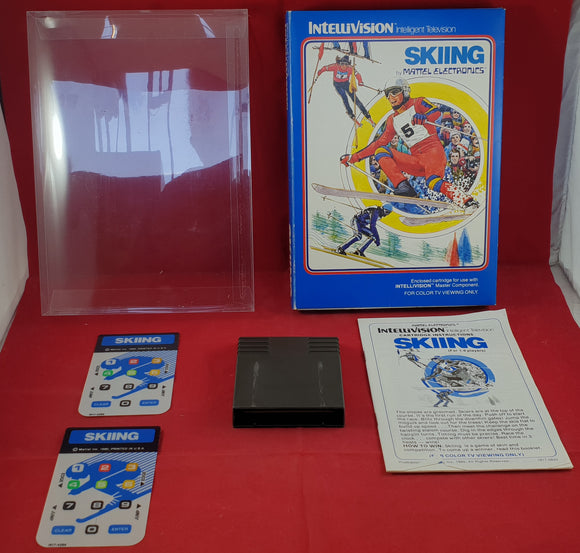 Skiing Intellivision Game