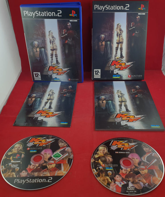 King of Fighters: Maximum Impact Collectors Edition Sony Playstation 2 (PS2) Game
