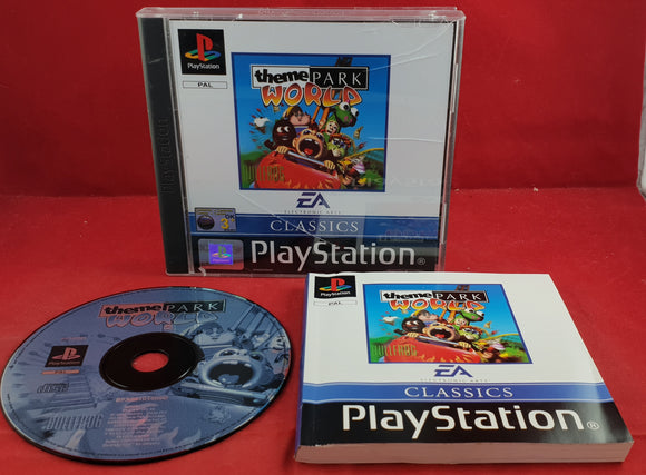 Theme Park World Classics Sony Playstation 1 (PS1) Game