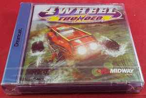 Brand New and Sealed 4 Wheel Thunder Sega Dreamcast Game
