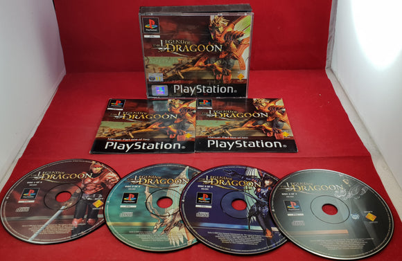 The Legend of Dragoon Sony Playstation 1 (PS1) Game