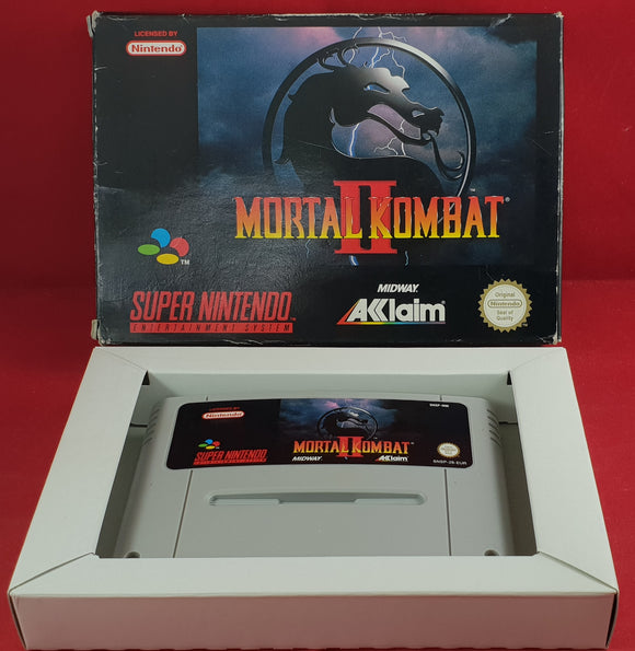 Mortal Kombat II Super Nintendo Entertainment System (SNES) Game