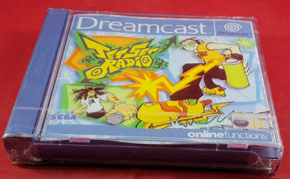 Brand New and Sealed Jet Set Radio Sega Dreamcast Game