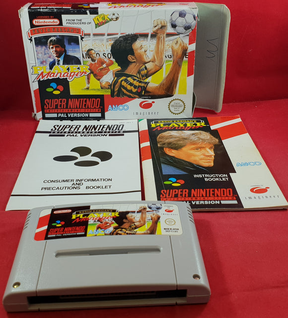 Kevin Keegan's Player Manager Super Nintendo Entertainment System (SNES) Game