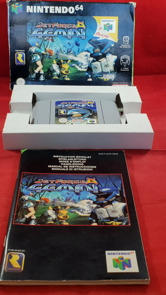 Jet Force Gemini Nintendo 64 (N64) Game