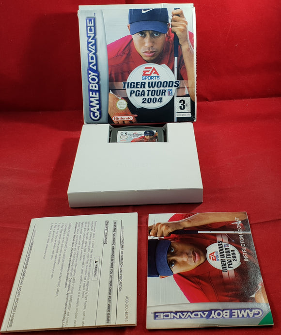 Tiger Woods PGA Tour 2004 Gameboy Advance Game