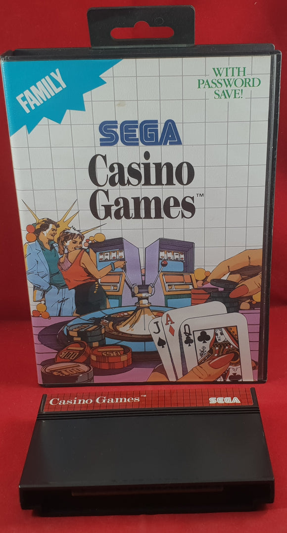 Casino Games Sega Master System Game