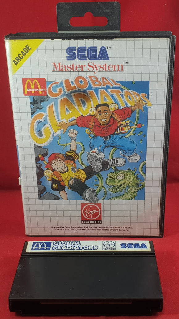 Global Gladiators Sega Master System Game