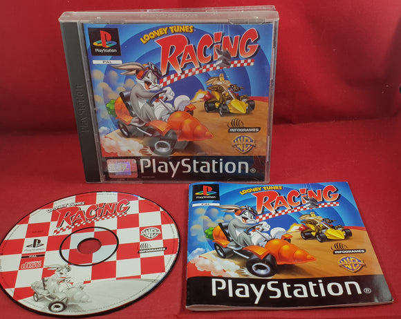 Looney Tunes Racing Sony Playstation 1 (PS1) Game