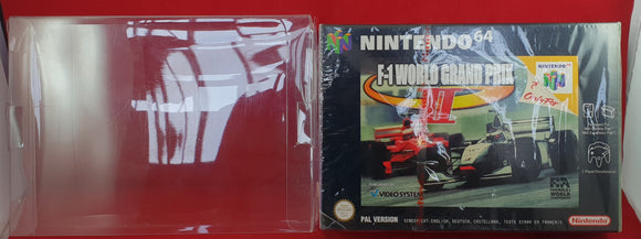 Brand New and Sealed F-1 World Grand Prix II Nintendo 64 (N64) Game