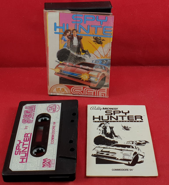 Spy Hunter Commodore 64 Game