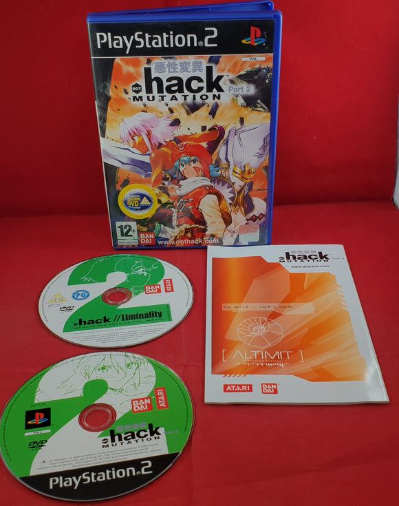 Hack Part 2 Mutation Sony Playstation 2 (PS2) Game