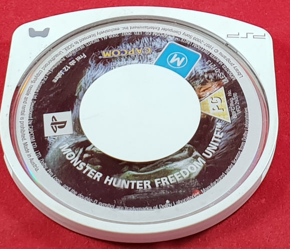 Monster Hunter Freedom Unite Disc Only Sony PSP Game
