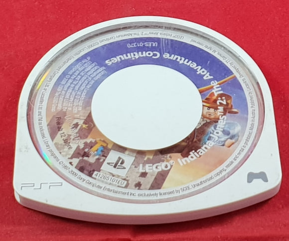 LEGO Indiana Jones 2 the Adventure Continues Disc Only Sony PSP Game
