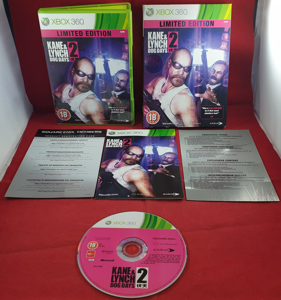 Kane & Lynch 2 Dog Days Limited Edition Microsoft Xbox 360