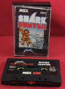 Shark Hunter MSX Game