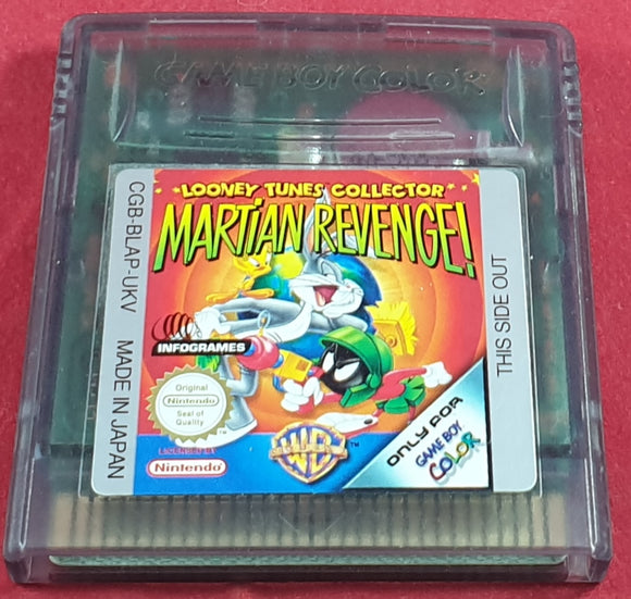 Looney Tunes Collector Martian Revenge Cartridge Only Game Boy Color Game