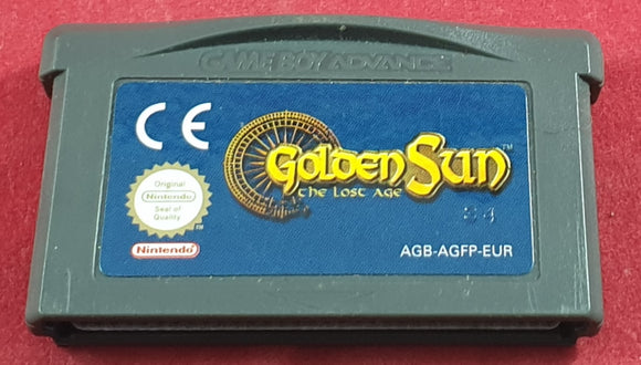 Golden Sun the Lost Age Cartridge Only Game Boy Advance Game