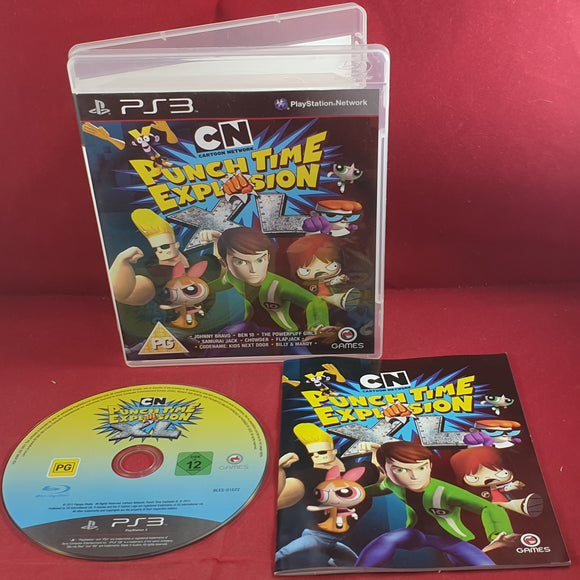 Cartoon Network Punch Time Explosion XL Sony Playstation 3 (PS3) Game