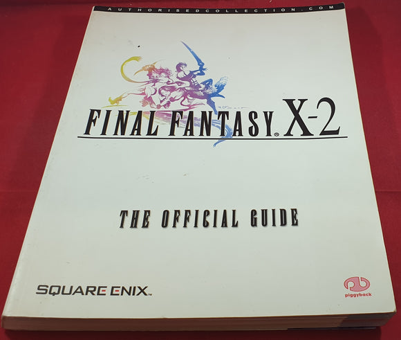 Final Fantasy X-2 Official Guide Book