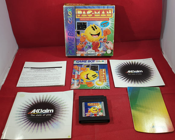 Pac-Man Special Color Edition Nintendo Game Boy Color Game