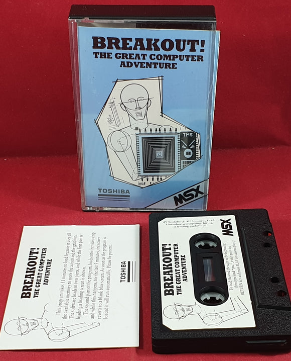 Breakout! MSX Game