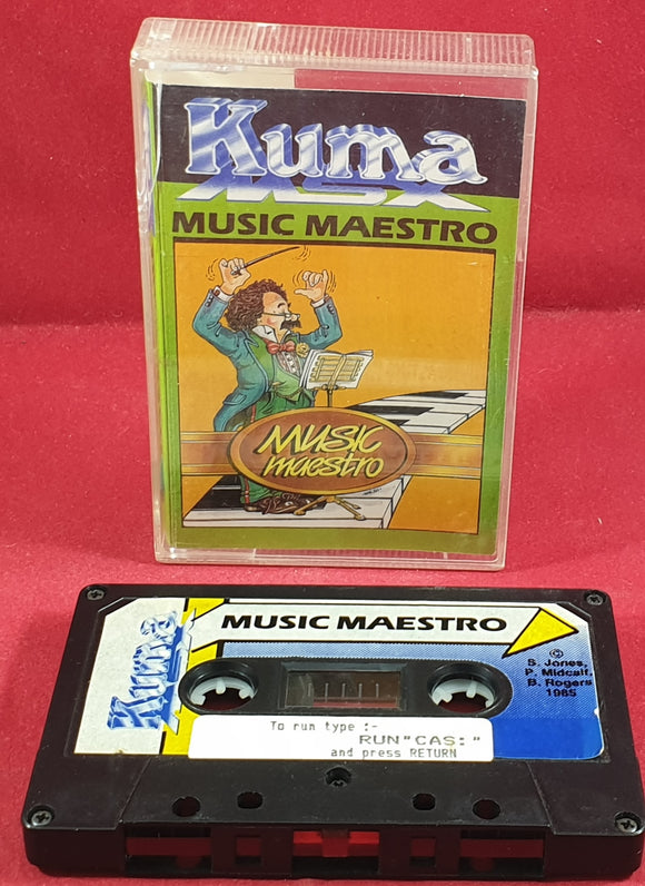 Music Maestro MSX Ultra RARE Game