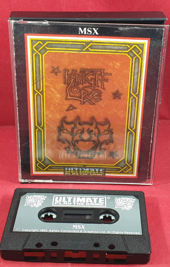 Knight Lore MSX Game