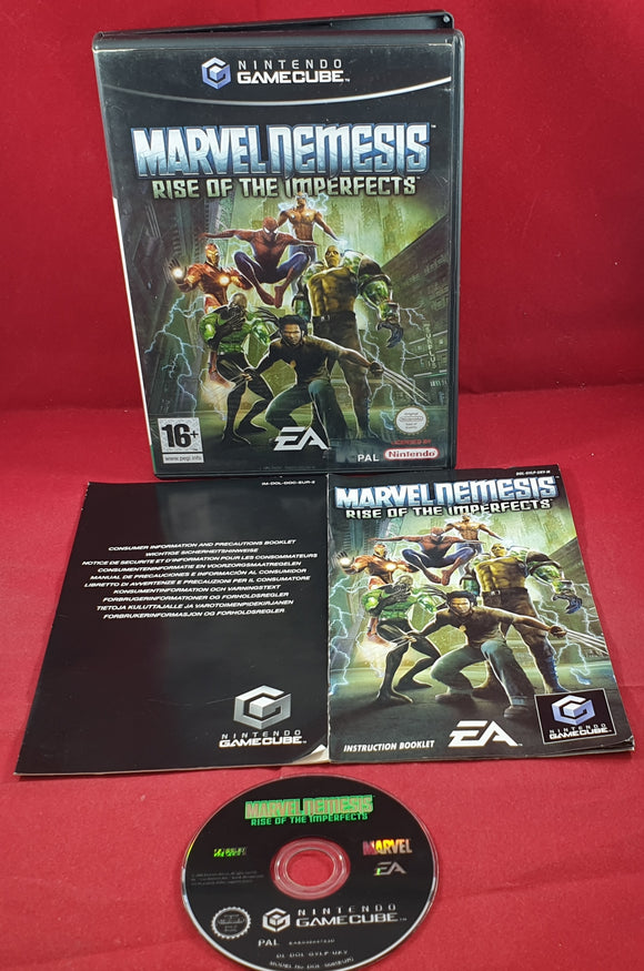 Marvel Nemesis Rise of the Imperfects Nintendo GameCube Game