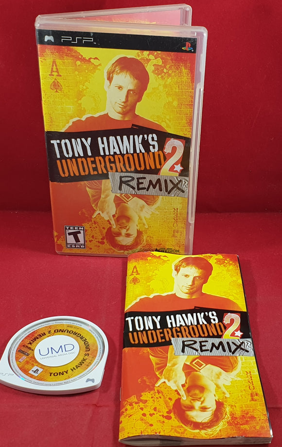 Tony Hawk's Underground 2 Remix Sony PSP Game
