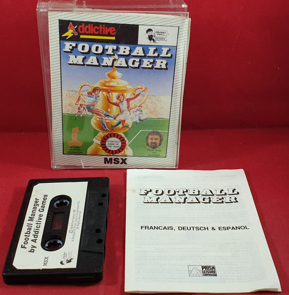 Football Manager MSX RARE Game