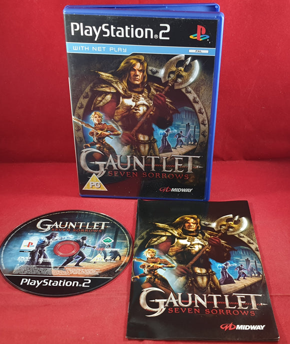 Gauntlet Seven Sorrows Sony Playstation 2 (PS2) Game